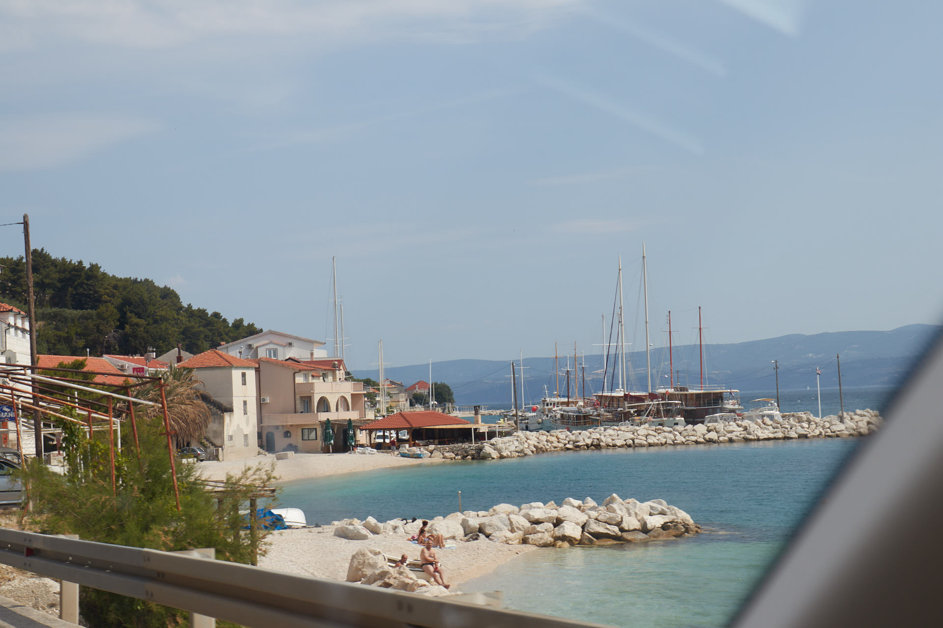 Coast Croatia near Split