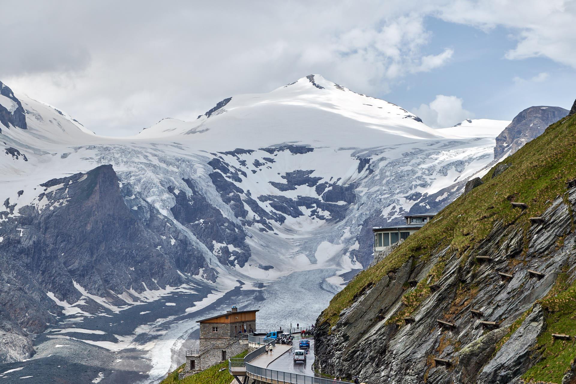 Glacier Pasterze, Großglockner
